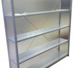 Police zaščitene s pleksi steklom