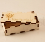 Lesena škatlica