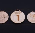 Lesene medalje
