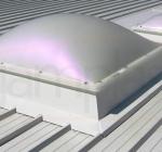 Svetlobna kupola na podstavku višine 30cm