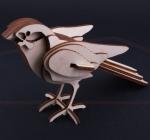 3D sestavljanka ptič