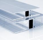 ALU H profil za plošče 6, 10 in 16 mm - za stene