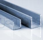 ALU U profil 15x15 in 20x20 za plošče 10 mm oz. 16 mm