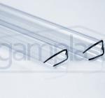 Polikarbonatni U profil za plošče debeline 4, 6, 8, 10 in 16 mm