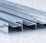 Zaključni ALU U profil z odkapom za plošče debeline 6, 8, 10 , 16, 20 in 25 mm