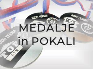 Medalje in pokali