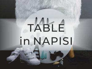 Table in napisi